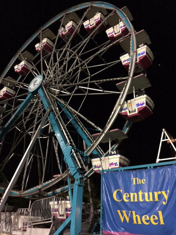 The Century Wheel Ferris Wheel at Frontier Days Arlington Heights