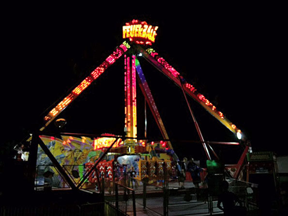 Fireball ride at Frontier Days Arlington Heights