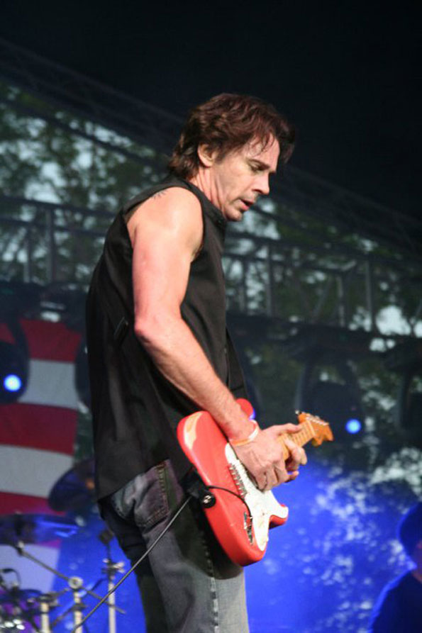 Rick Springfield performing at Frontier Days