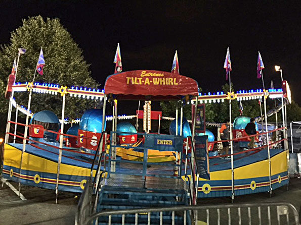 TILT-A-WHIRL Ride at Frontier Days Carnival Arlington Heights