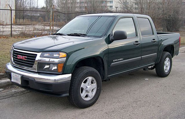Stolen GMC Canyon Arlington Heights -- File Photo