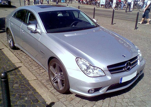 Stolen Mercedes Benz C219 CLS 63 AMG (file photo)