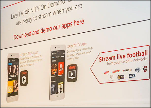 XFINITY TV apps