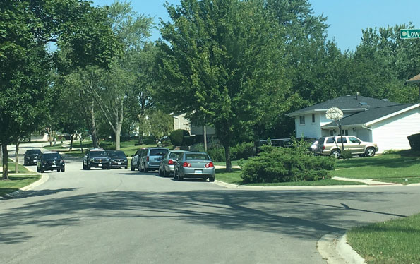 Schaumburg Police Warrant Service, evidence collection on Cambridge Drive