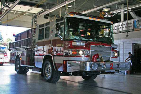 Arlington Heights Fire Department Engine 2