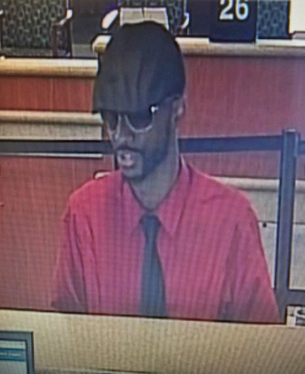 Bank Robbery Suspect Fifth Third Bank Rolling Meadows