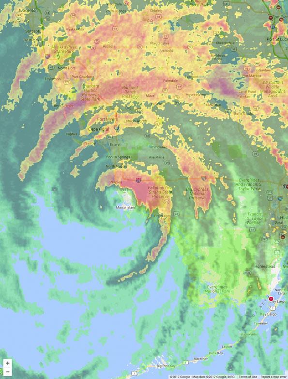 Hurricane Irma September 10 2017 425 PM EDT