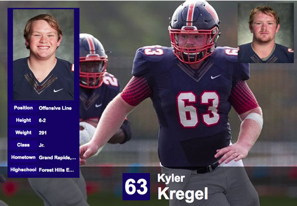 Kyler Kregel, Wheaton College Football hazing suspect
