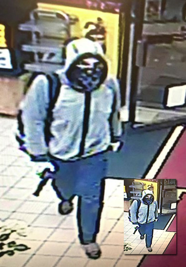 McHenry Gas Station Robbery Suspect