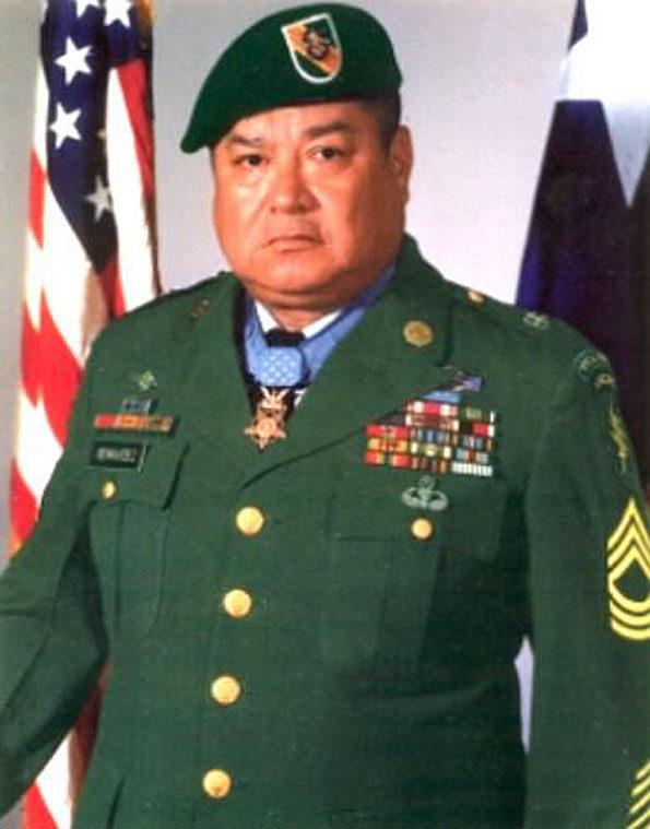 """Master Sergeant Raul Perez """"Roy"""" Benavidez"""