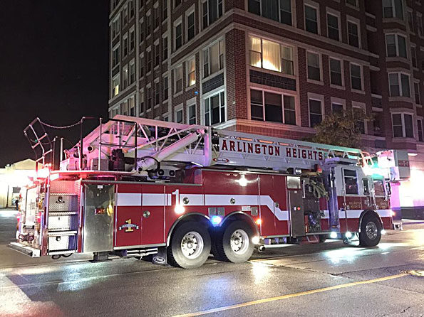 Arlington Heights Fire Department Tower 1 Smoke Investigation