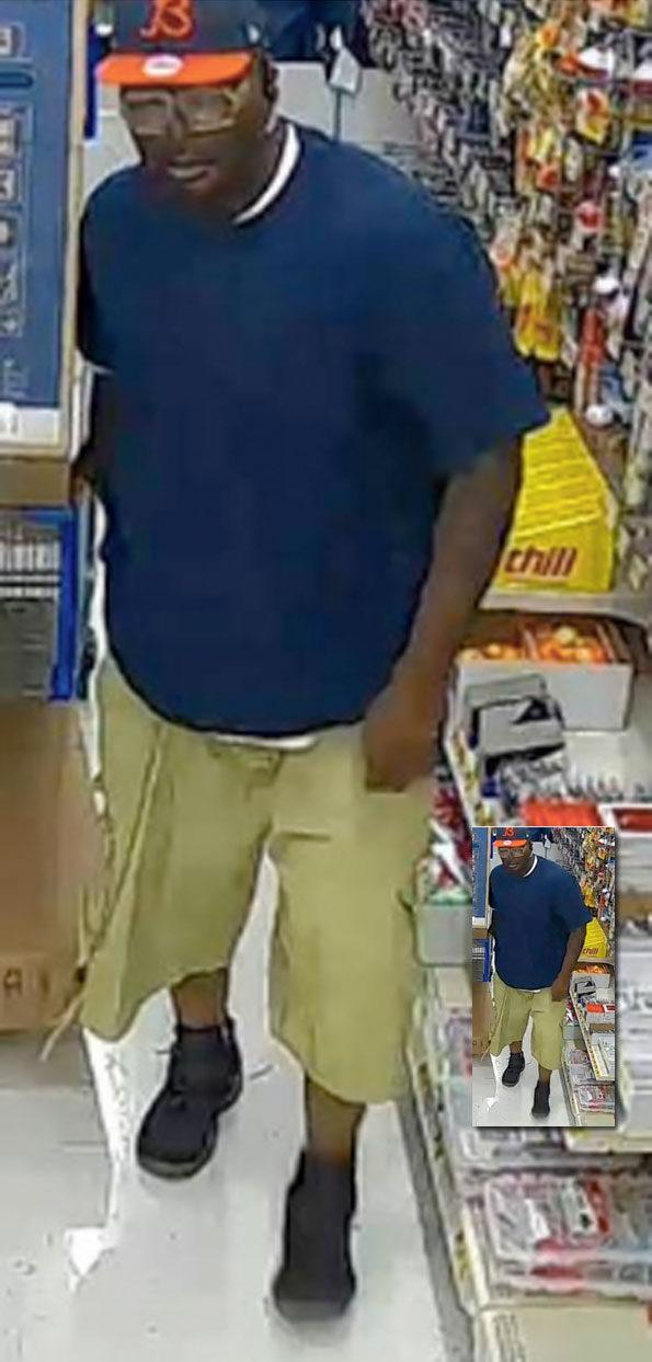 Walmart TV, electronics theft suspect Naperville
