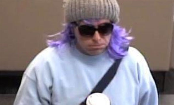 Bank Robbery suspect Bank of America, Glen Ellyn