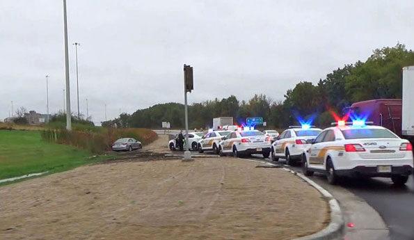 Hyunda Sonata, suspect's vehicle in Deer Park armed robbery