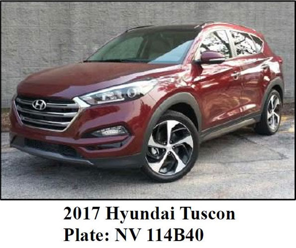 Hyundai Tucson Las Vegas mass shooting investigation