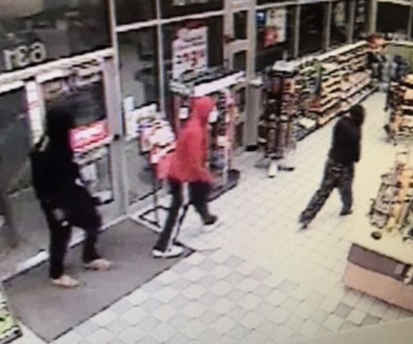 Suspects at Naperville Speedway robbery