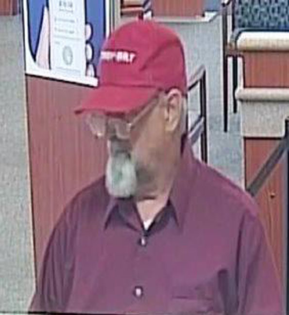 Do you know this man? Please call Rolling Meadows Police Department at 847-255-2416 with any information. He is wanted for bank robbery.