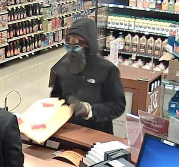 Bank Robber TCF Arlington Heights December 13 2017