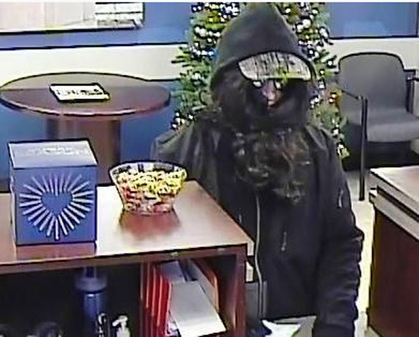 Cary bank robbery suspect