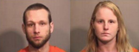 Daniel and Jessica Plushkis, bank robbery suspect Algonquin