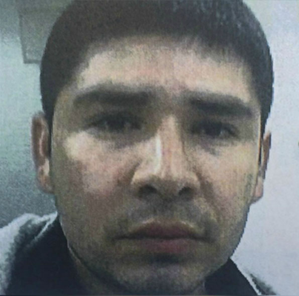 Margarito Vargas-Rosas terrorist threat suspect, Greyhound bus