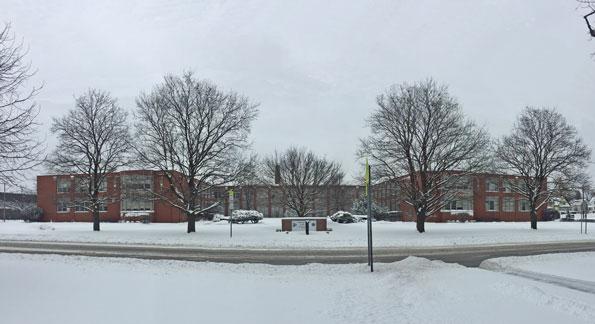 Arlington High School Circle Drive