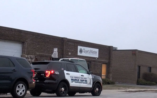 Elk Grove Village Police at Quartz Master for apparent accidental death investigation