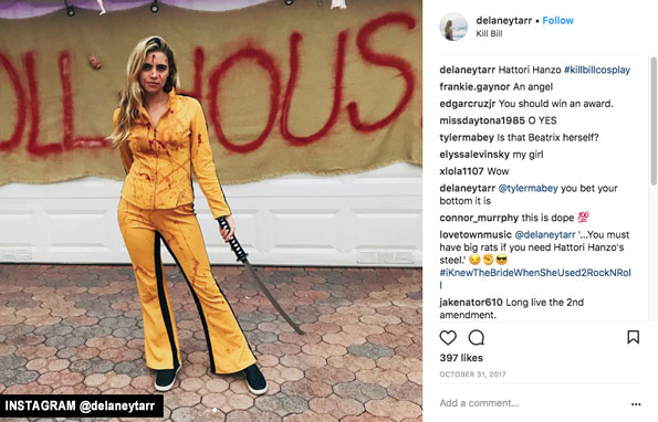 delaney tarr u2019s instagram photos are in stark contrast with