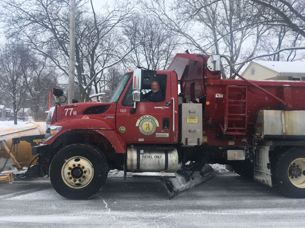 Arlington Heights Snow Plow 77M