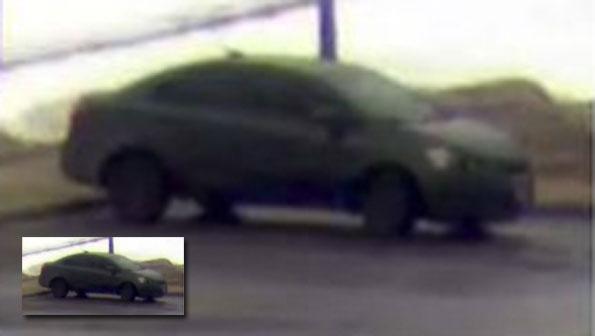 Vehicle burglary suspect vehicle at Camelot Park Arlington Heights