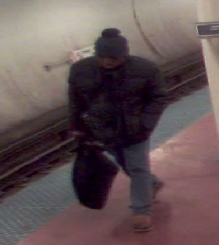 Blue Line Monroe St armed robbery suspect