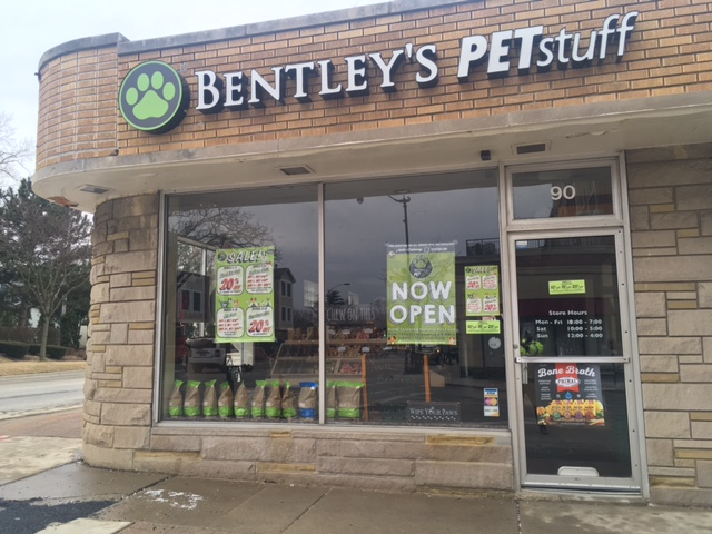 Bentley's PETstuff location in Arlington Heights