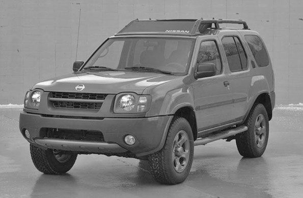 Nissan Xterra 2002-2004 file photo stolen Arlington Heights