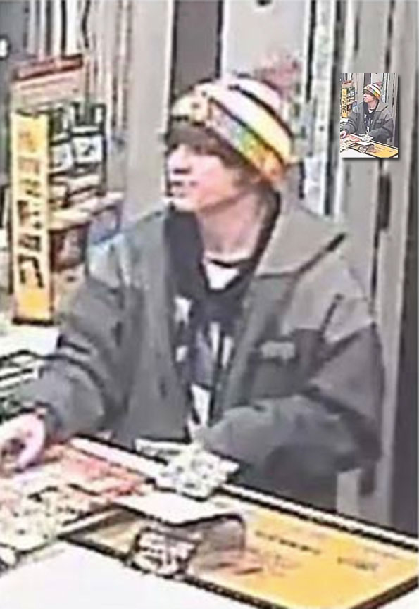 Shell gas station counterfeit cash suspect, Arlington Heights