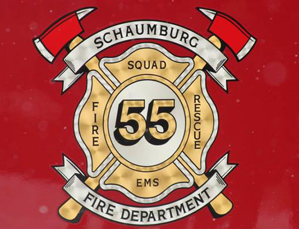 Schaumburg Fire Department Squad 55 emblem