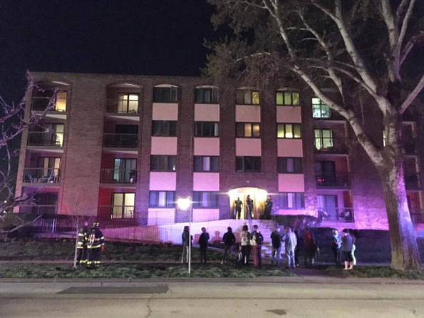 small oven fire evacuates apartment building on pine ave