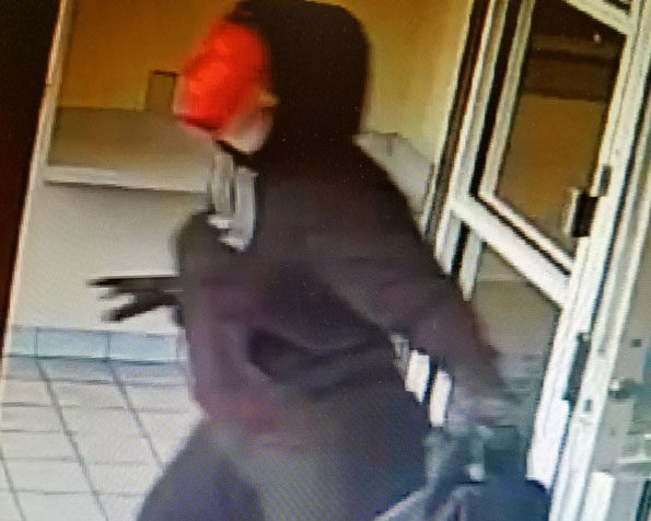 Gurnee Bank Robber, Female with Bag
