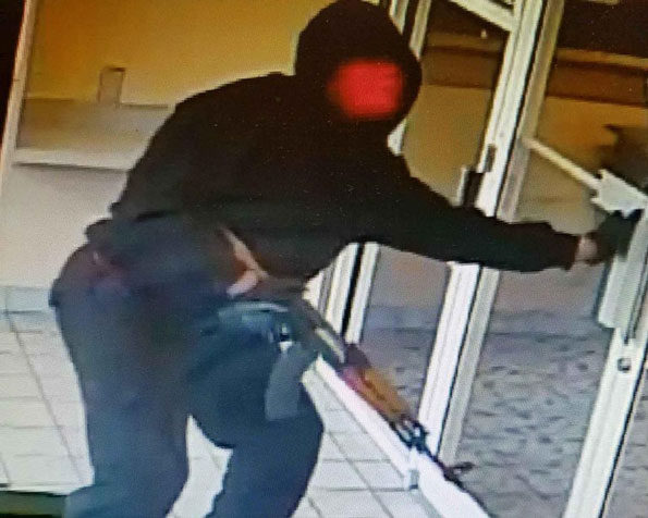Gurnee Bank Robber, Male with AK-47