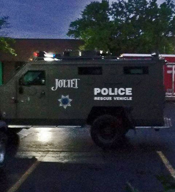 Joliet Police Bearcat in Mundelein