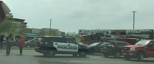 Range Rover fire Ross Dress for Less Schaumburg