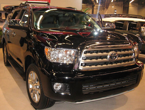 Toyota Sequoia file photo for Barrington Hills fatal hit-and-run