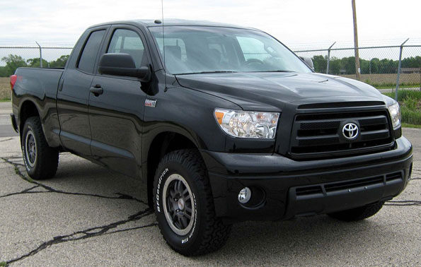 Toyota Tundra file photo for Barrington Hills fatal hit-and-run