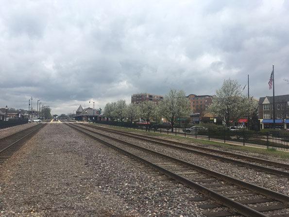 Train Tracks Arlington Heights