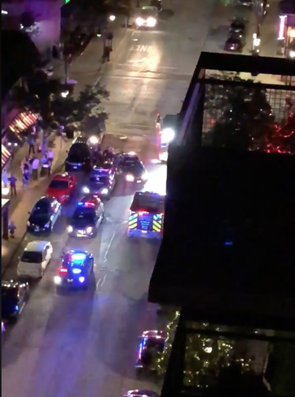 Vail Avenue, man resisting arrest scene Arlington Heights
