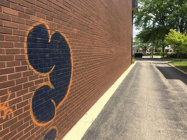 Graffiti 900 Block E Rand Rd Arlington Heights