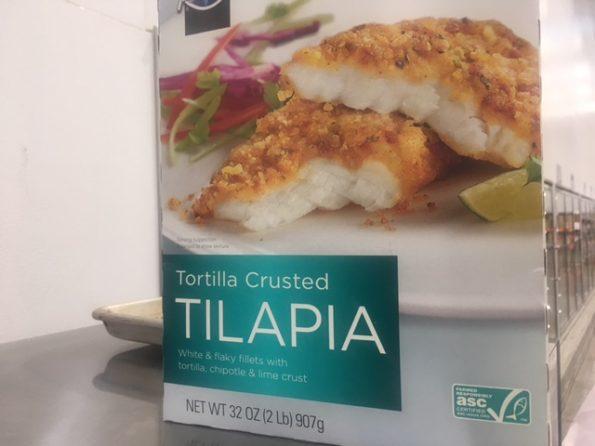 Tilapia sample at Costco