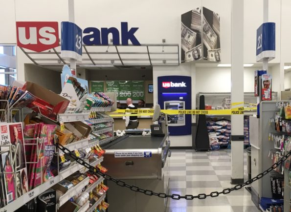 Police Do Not Cross US Bank Meijer