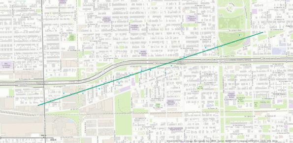 Tornado Track Map Chicago September 3 2018