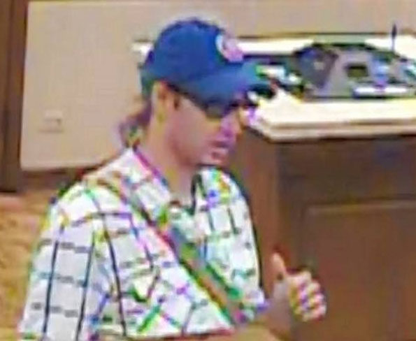 Bank robber BMO Harris South Barrington