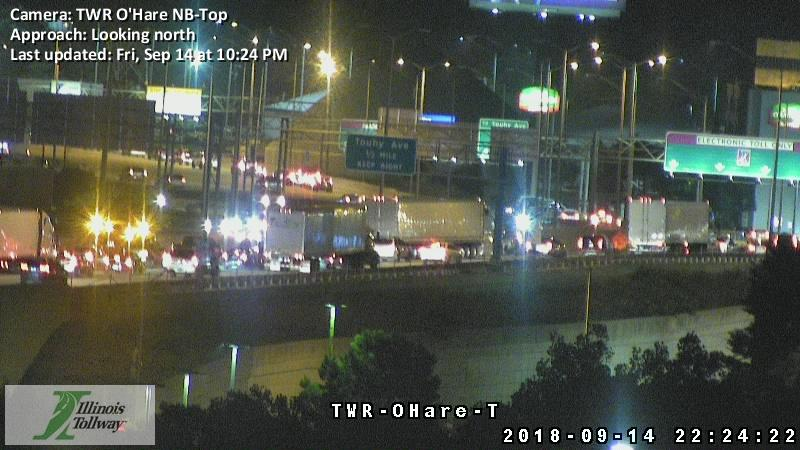 Construction Worker Hit By A Vehicle NB I-294 Near Touhy Ave, Des